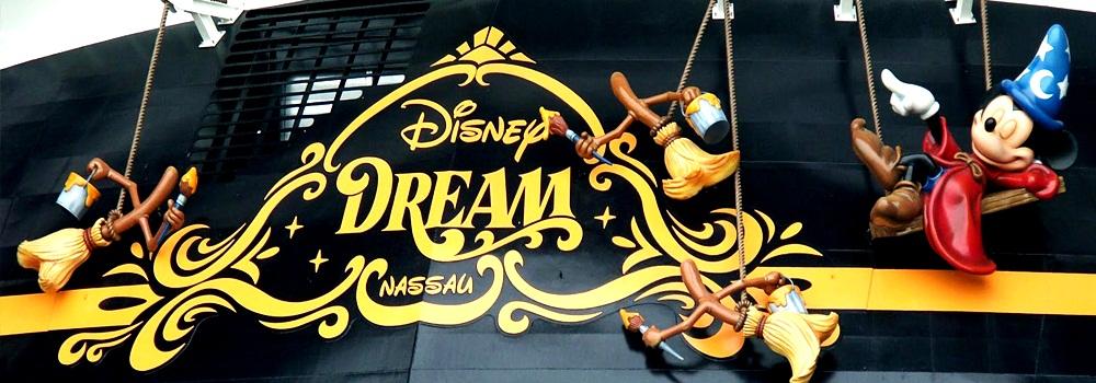 Disney Dream, um navio padrão Disney