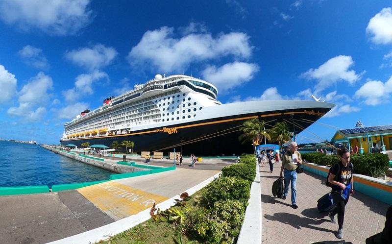 Disney Dream em Nassau / Bahamas