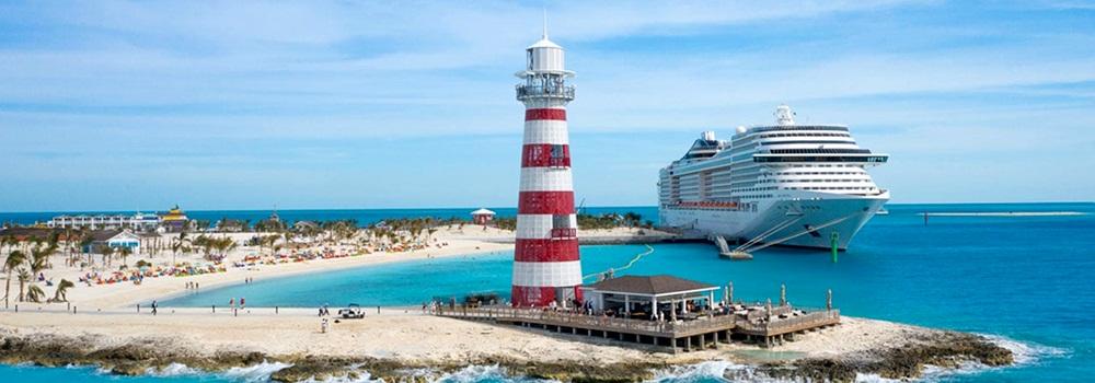 Conheça 7 ilhas exclusivas para navios de cruzeiro