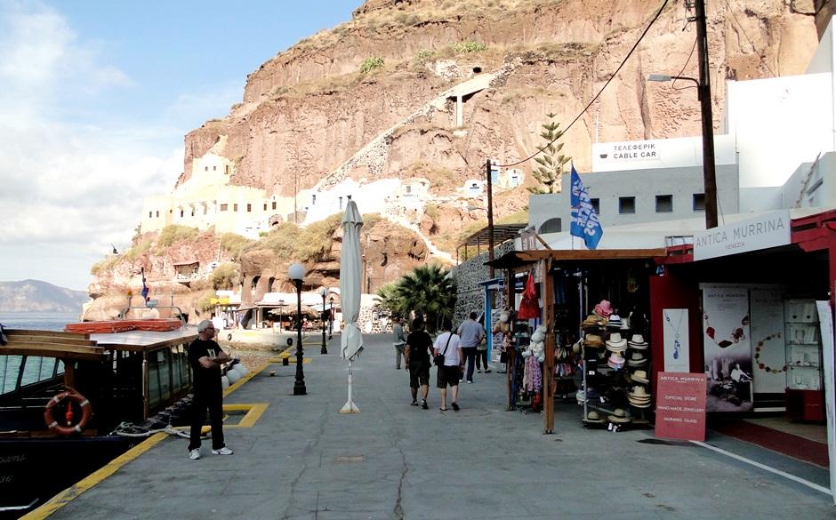 Skala Port - Santorini