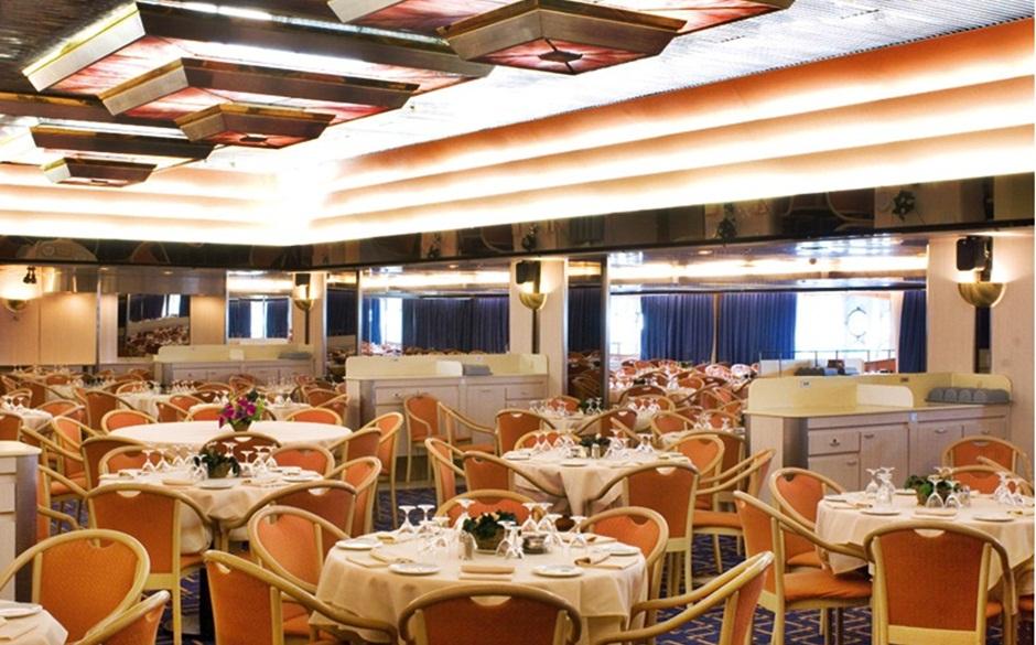 Restaurante Galaxy - MSC Melody