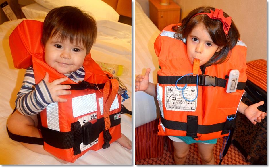 Diana 11 meses (MSC Splendida) / Diana 4 anos (Costa Fascinosa)