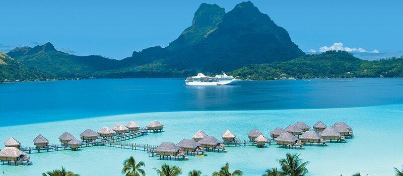 Cruzeiro em Bora Bora (Polinésia Francesa)