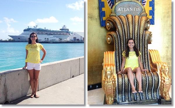 Juliana em Nassau / Bahamas