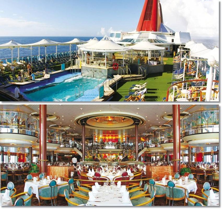 Pool deck / Restaurante Miramar