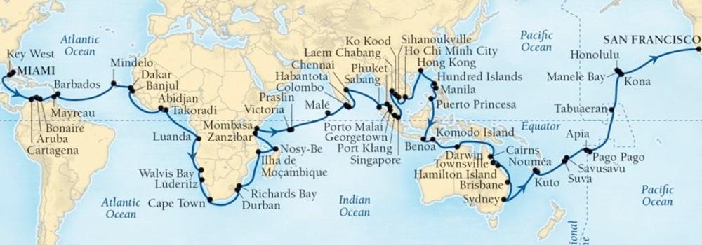O que são World Cruises?