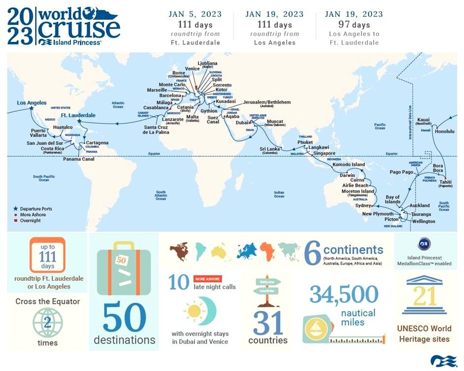 World Cruises - Princess Cruises