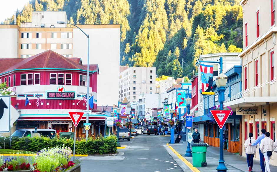 Centro comercial de Juneau