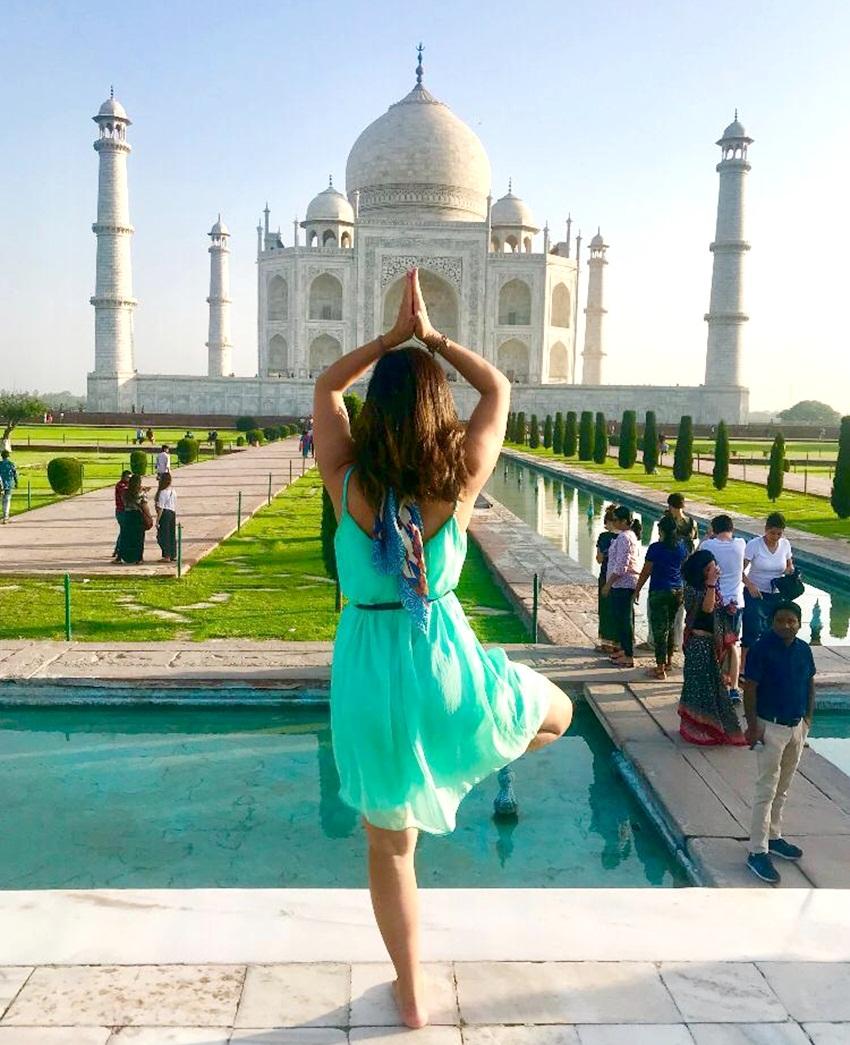 Conhecendo as maravilhas do mundo – Taj Mahal, Agra / Índia