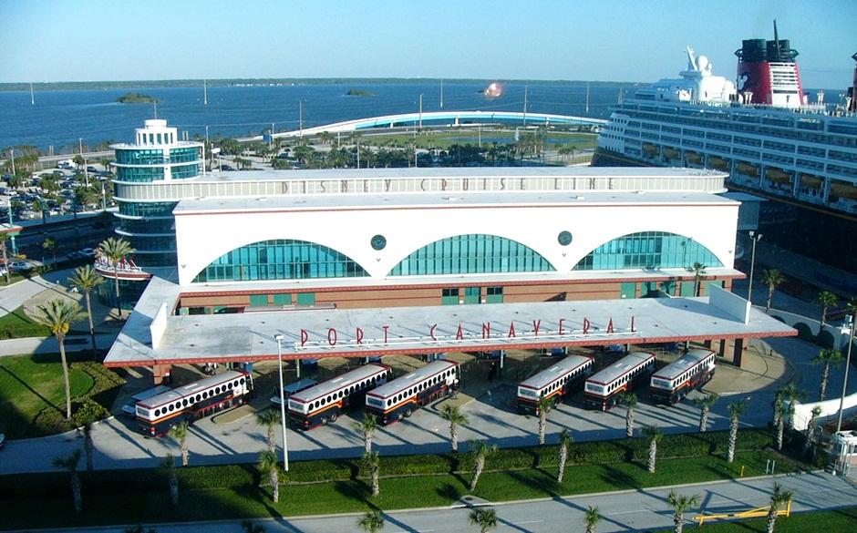Terminal exclusivo Disney em Port Canaveral
