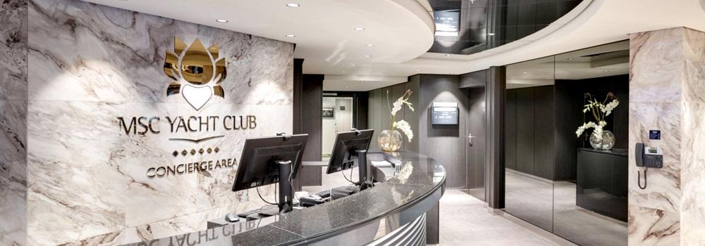9 motivos para viajar no Yacht Club (MSC Cruzeiros)