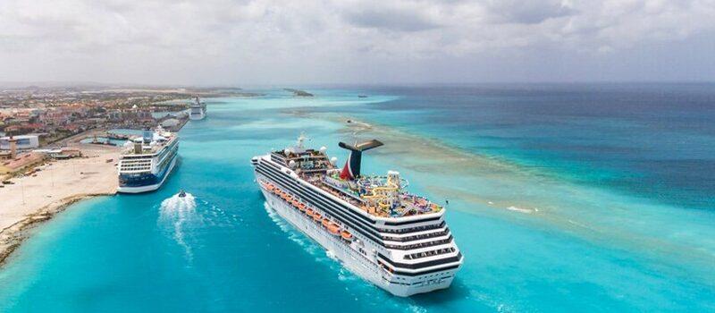 Cruzeiro em Oranjestad (Aruba)