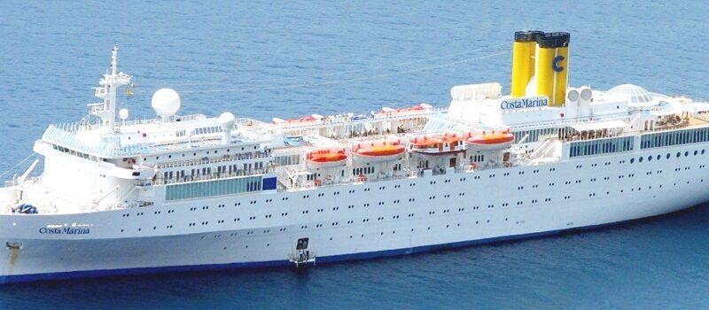 Por onde anda o Costa Marina?