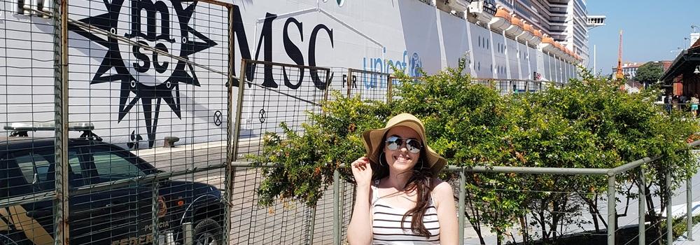 Cruzeiro pelo Prata a bordo do MSC Fantasia