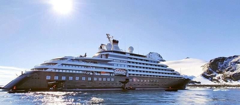 Scenic Eclipse, o mega-yacht ultra-luxo
