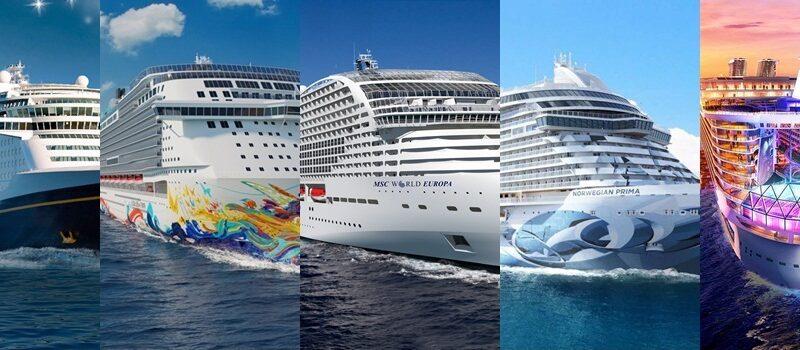 5 novos navios de cruzeiro para 2022