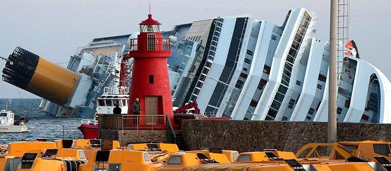 O acidente e naufrágio do Costa Concordia