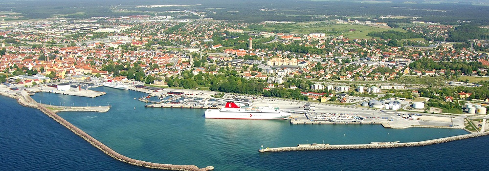 Cruzeiro em Visby (Suécia)