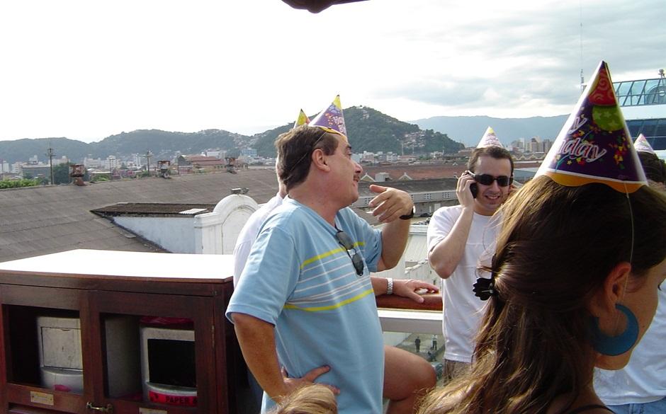 Feliz aniversário, pai